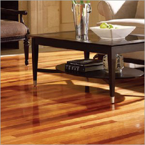 Polished Teak Floor
